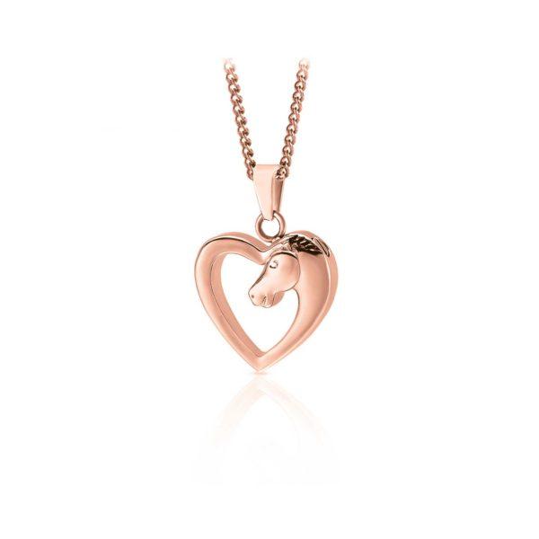 A horse's love pendant
