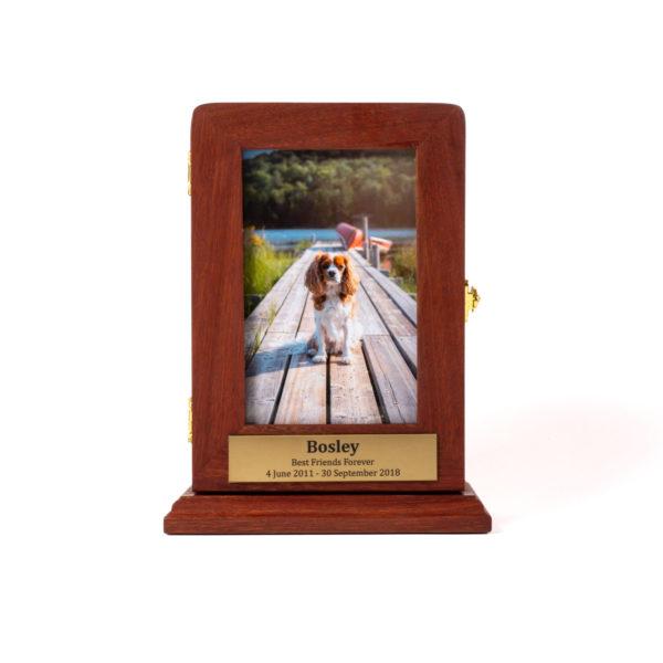 Handmade Jarrah Photo Box